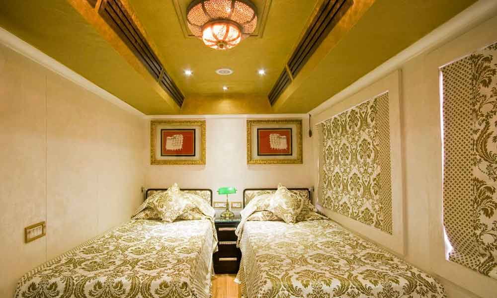 Palace on Wheels Deluxe Cabin