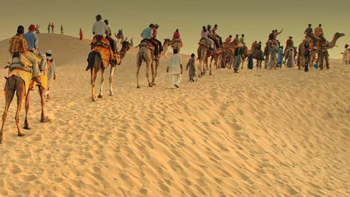 Camel Safari at Jaisalmer