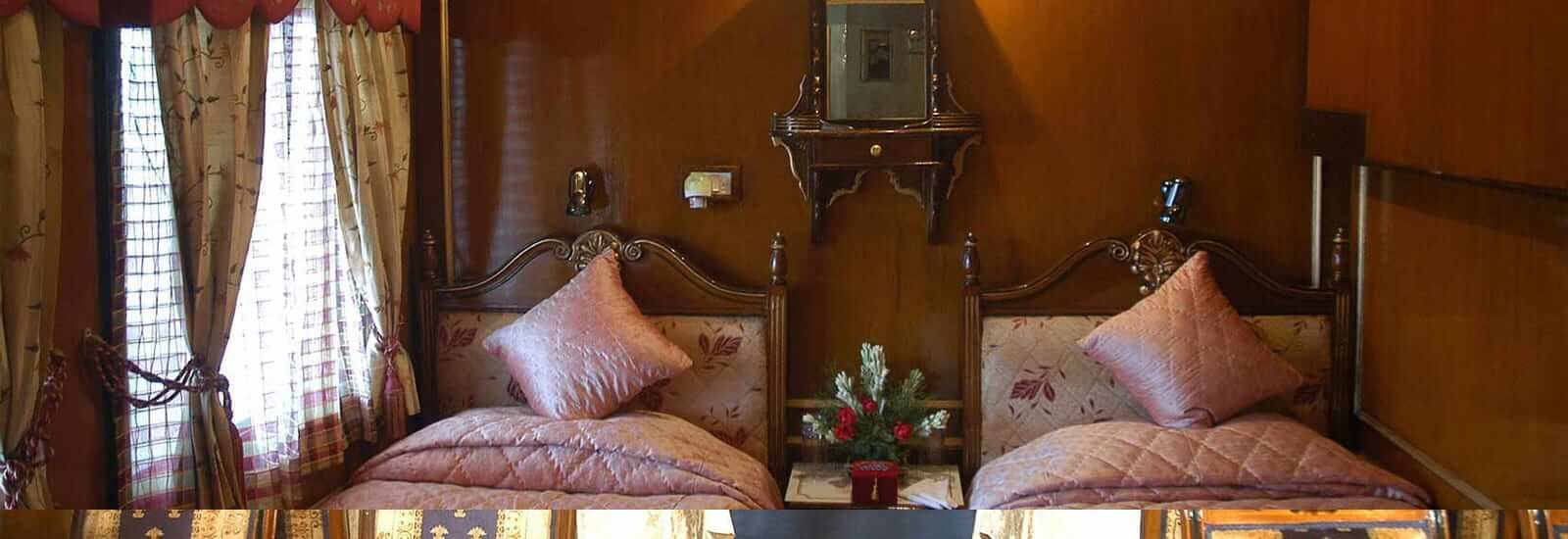 Palace on Wheels Train Cabin