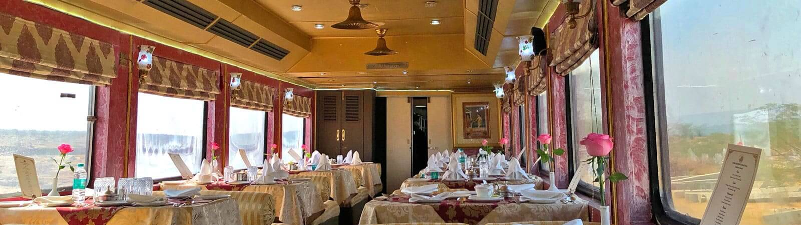 Palace on Wheels Maharajah Restaurant