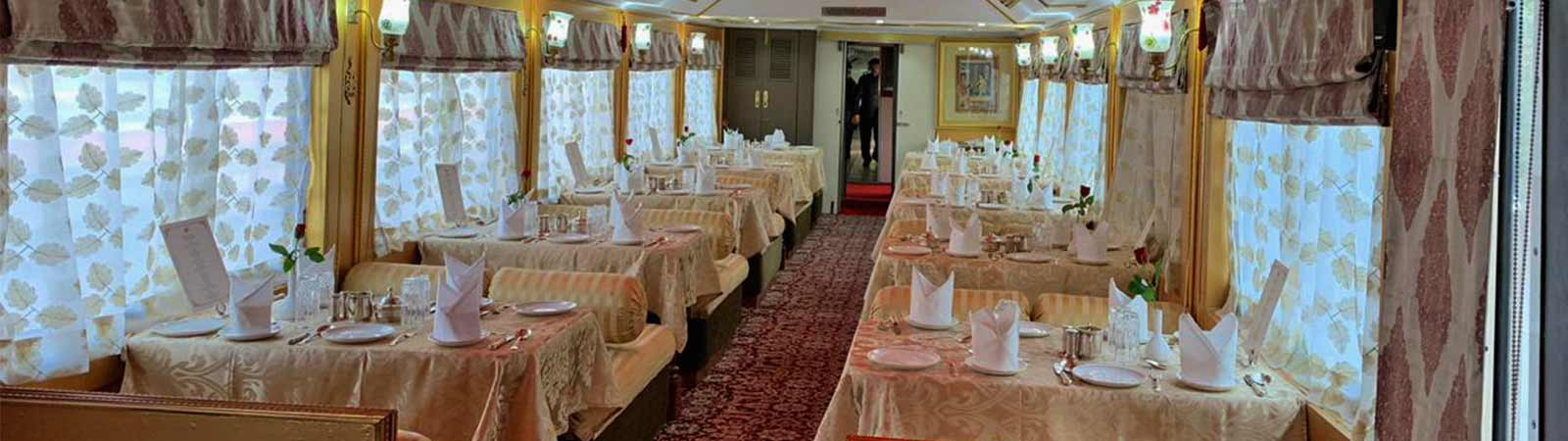 Palace on Wheels train restaurants