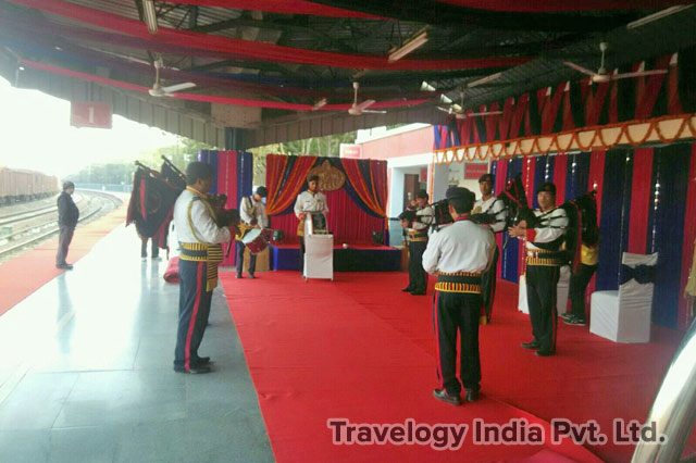 Palace on Wheels Train Welcome Ceremony