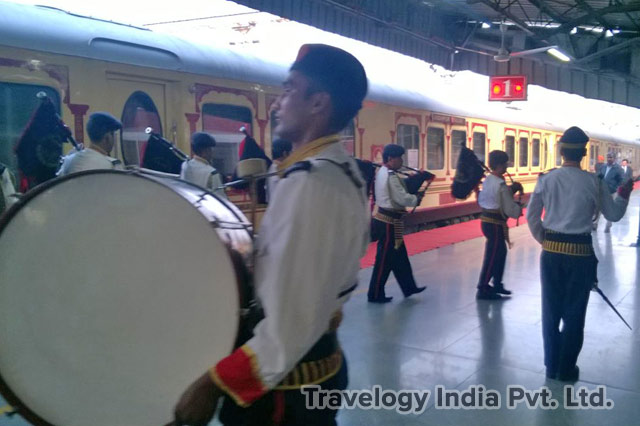 Welcome Ceremony - Palace on Wheels Train