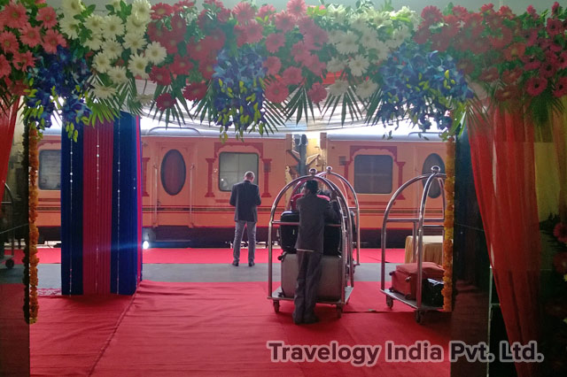 The Palace on Wheels Train - Guests Luggage