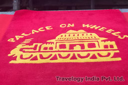Palace on Wheels Train Banner