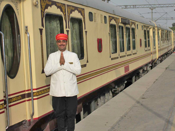 Exterior View of Palace on Wheels India