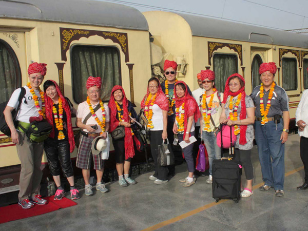 Journey Comes to an End - Palace on Wheels