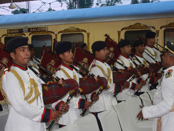 Palace on Wheels Train in India