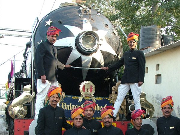 The Palace on Wheels Train