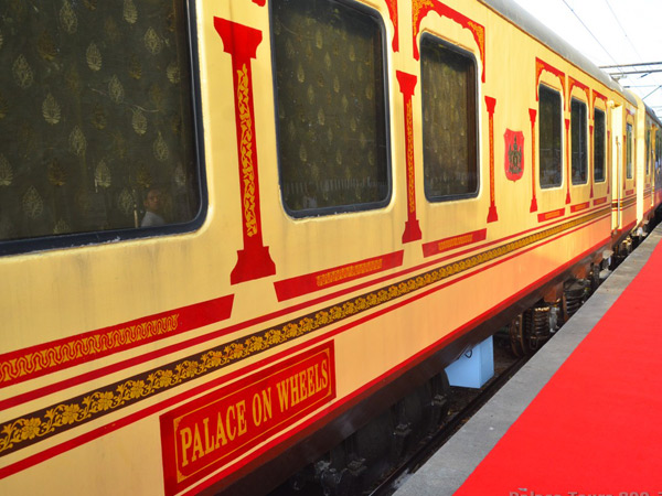 The Palace on Wheels Train Exterior
