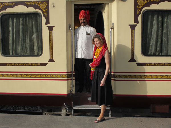 Palace on Wheels Train - Guests